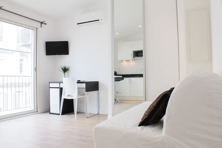 Ideal location flat with terrace and Aircon - Marseille - Huoneisto