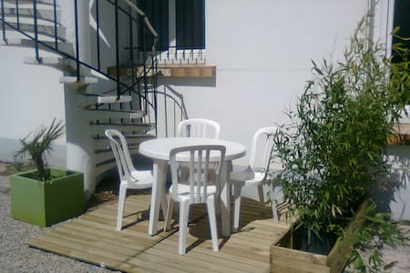 Nice 1 bedroom flat by the sea, 4 P - Château-d'Olonne