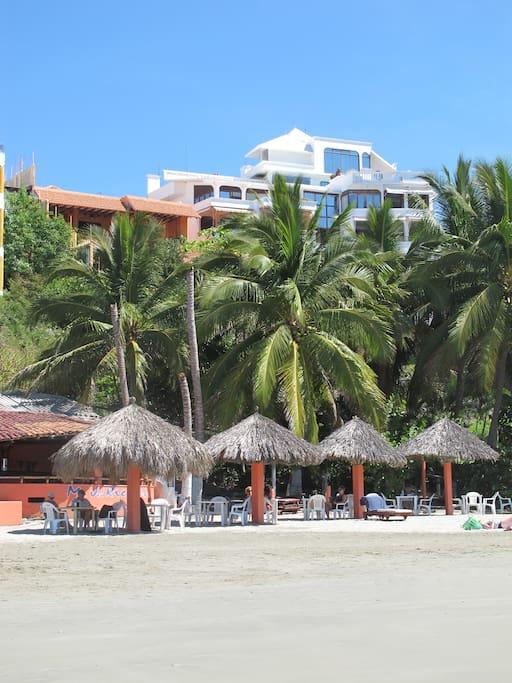 Playa Madera, below the Siesta Y Sol apartment.