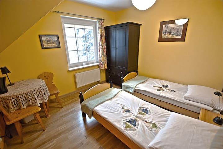 Pokój Żółty MALINÓWKA - Szczyrk