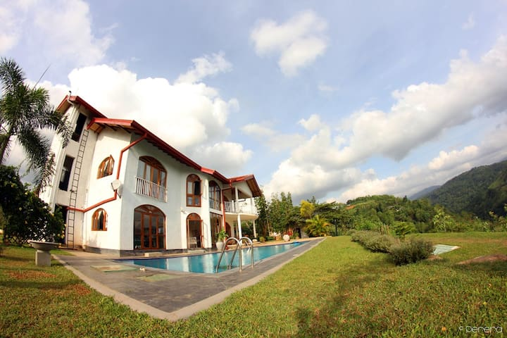 Panaromic view from the summit - Kandy - Bed & Breakfast