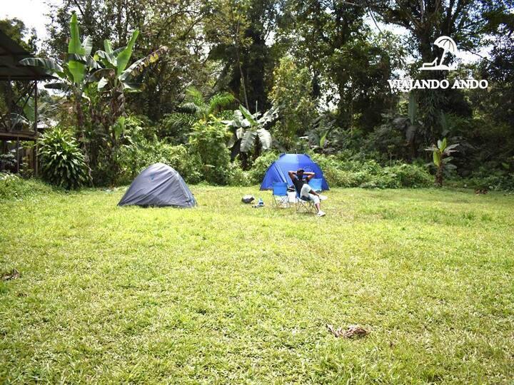 CAMPING EN SAN CIPRIANO