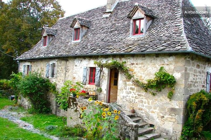 17th Century restored Farm house - Teyssieu - Bed & Breakfast
