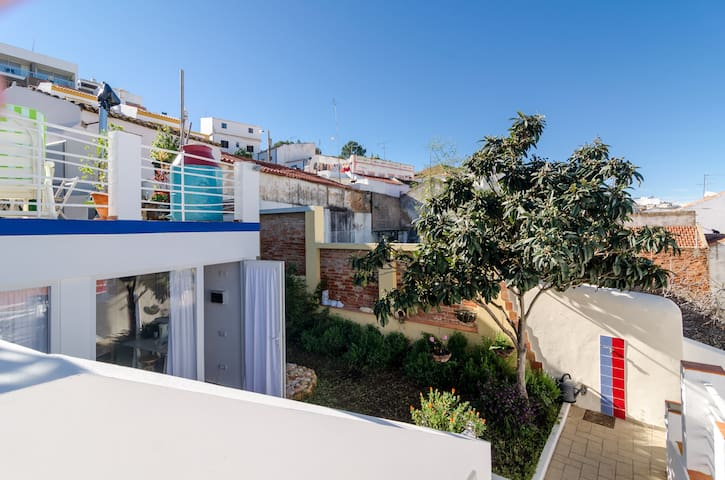 Studio, centrum, 4 terrassen/tuin - Ferragudo - Appartement