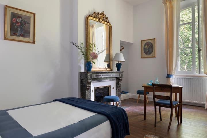 Spacious/Charming En-suite bedroom near St Emilion