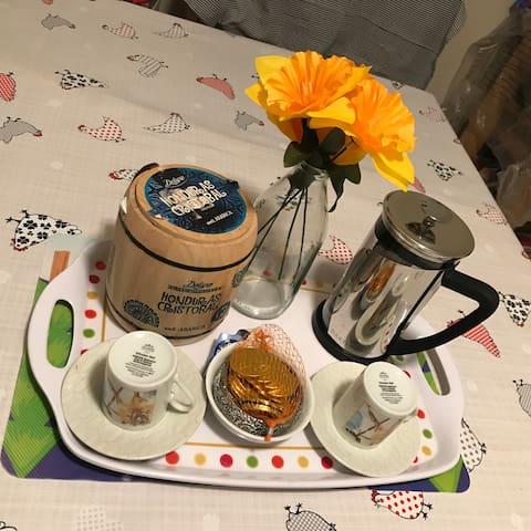 Coffee, or tea?