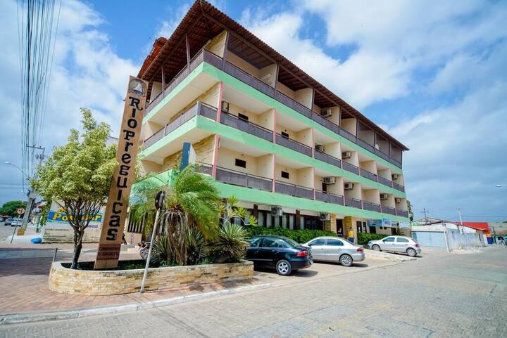 Quarto Inteiro no Hotel Rio Preguiças