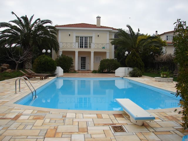 Luxury villa in Vari with big pool - Vari - Villa