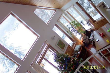 Beautiful lakeside chalet in the Laurentians - Saint-Adolphe-d'Howard