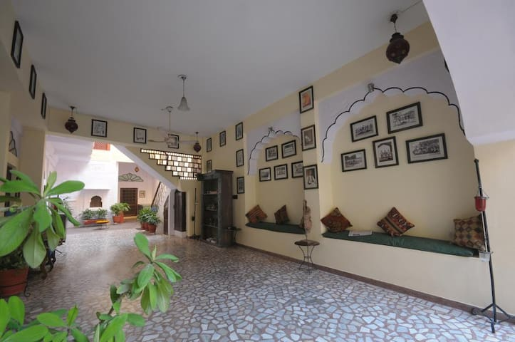 200 years old Pal Haveli offers you a room