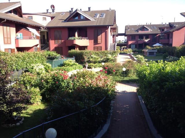Nice and confortable apartment with private garden - Torriano - Wohnung