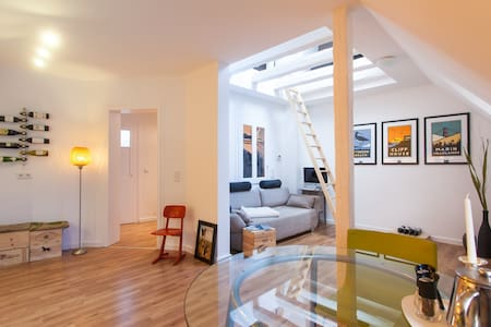 New Rooftop loft in Old-Sachsenhaus - Frankfurt - Apartment