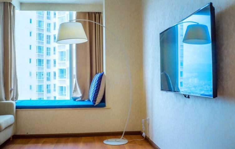 云山美地海景度假公寓山景圆床房 - Dali - Condominium