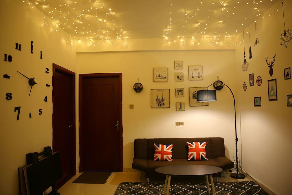 浪漫的客厅