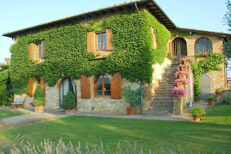 Villa in Chianti Tuscany closeSiena - Ambra - House