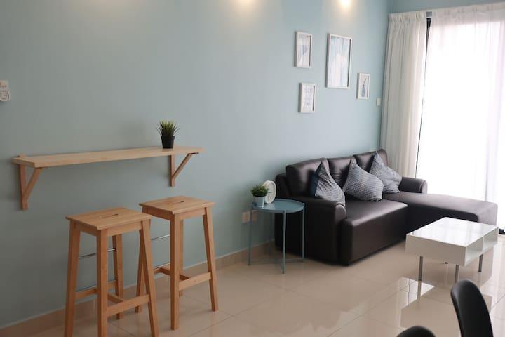 Cozy Apartment BLK B @ SkyRiverFront