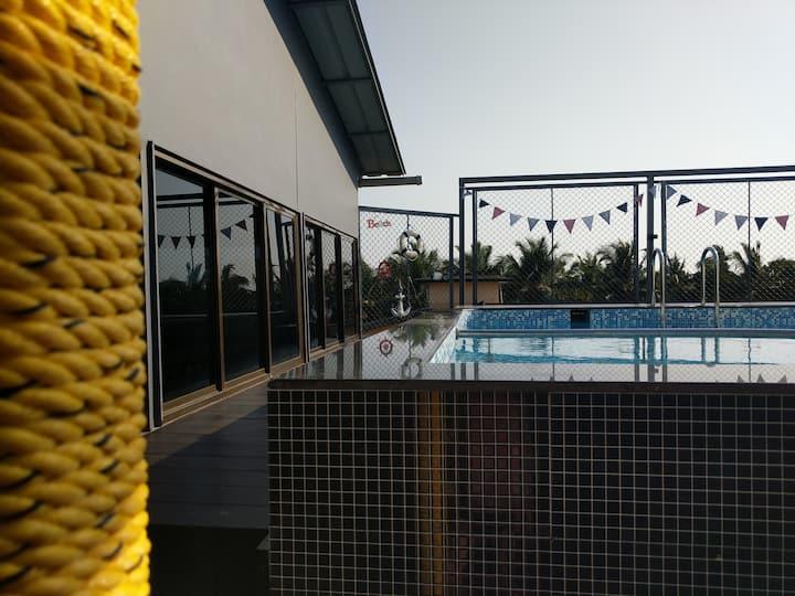3 Stories Baga/Room 203/Rooftop bar/Pool