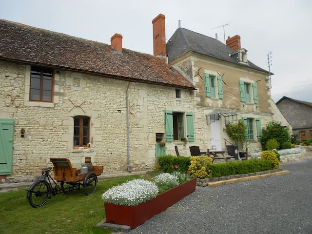 frans boerderij vrij uitzicht - Jaulnay - Kabin
