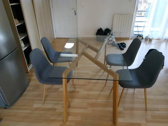 chambre privée calme proche de Paris