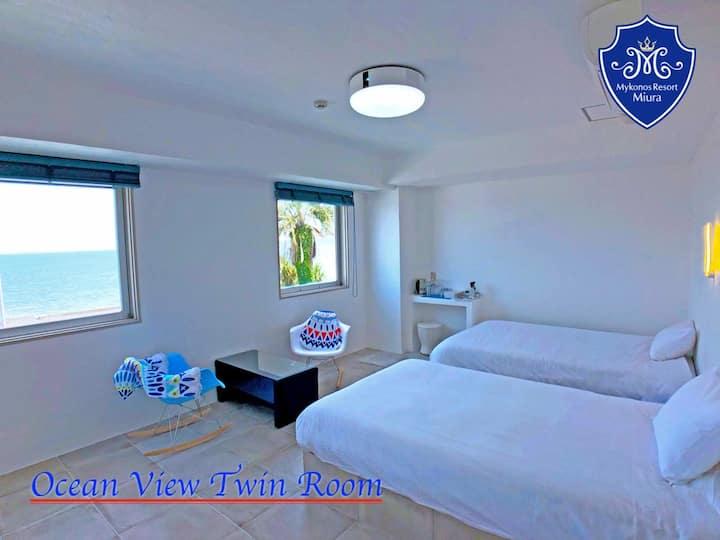 [Seaside twin] Ocean view deluxe
