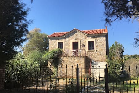 Lesvos , Nifida  Small cottage by the sea