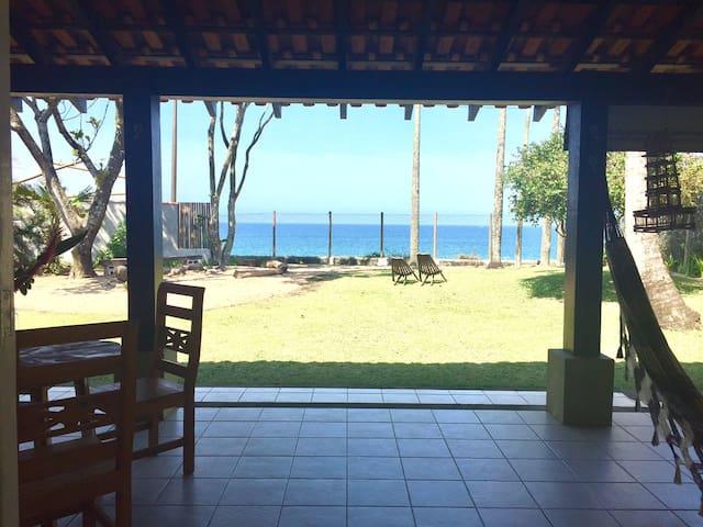 Casa frente para o mar - ideal para home office:)
