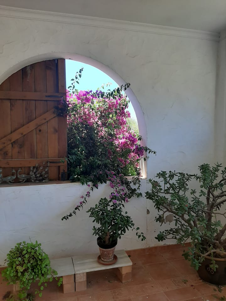 Casa Leigh: Queit stay in beautiful campo 2 person