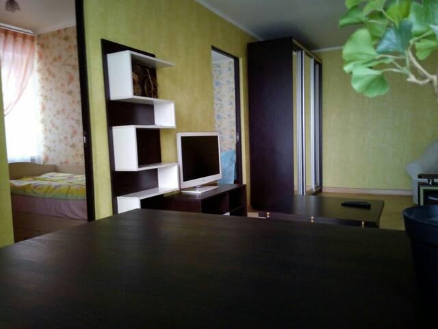 4-х ком. уютная квартира с отличным ремонтом - Pyatigorsk - Byt