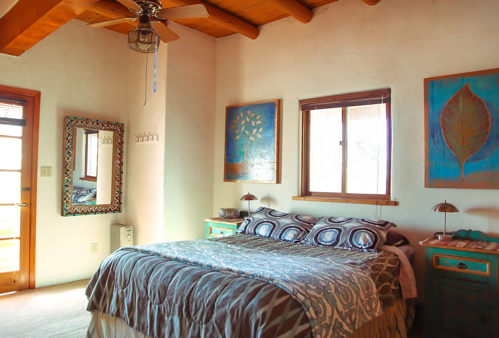 Our Main Available Bedroom with Queen Size Bed