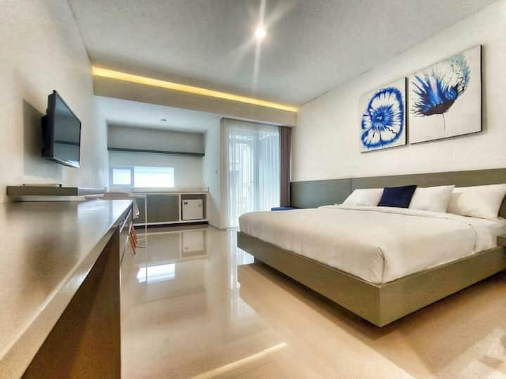 The luxury romantic couple apartement at kuta bali
