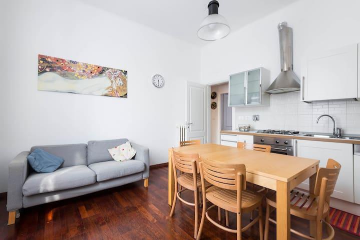 Elegante trilocale in zona Saffi / Andrea Costa - Boloña - Apartamento