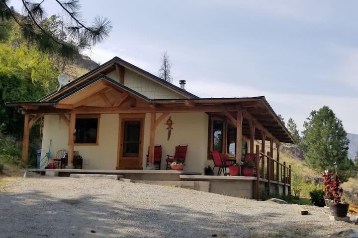 Beautiful Timber Frame Home With Lake Views
