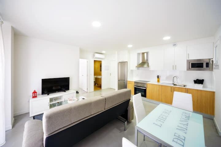 Apto 1 dormitorio - 1 cama | Rueiro 17 - Bajo A