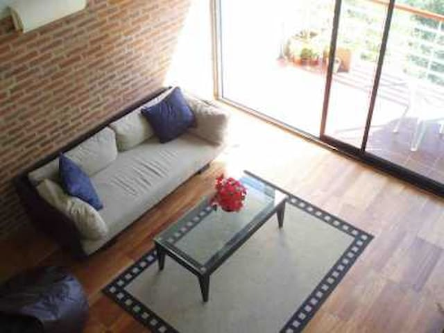 LOG TERM STAY. UNIQUE LOFT IN B.A - Libertad - 公寓