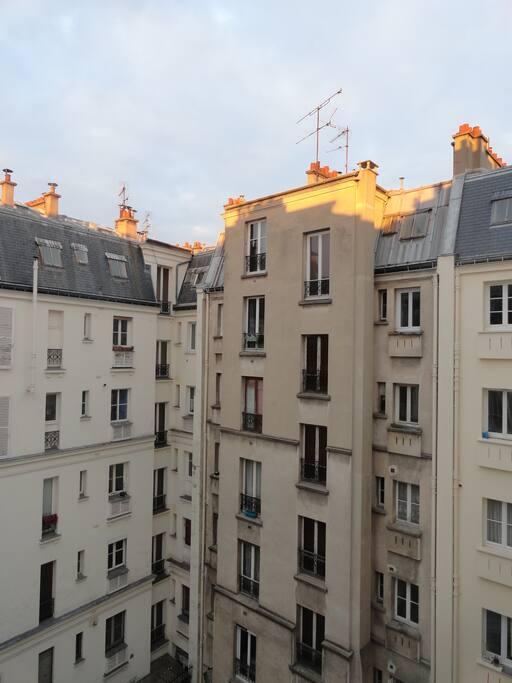 Un appartement calme sur cour