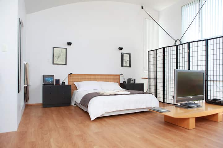 Modern Loft Style Studio Apartment