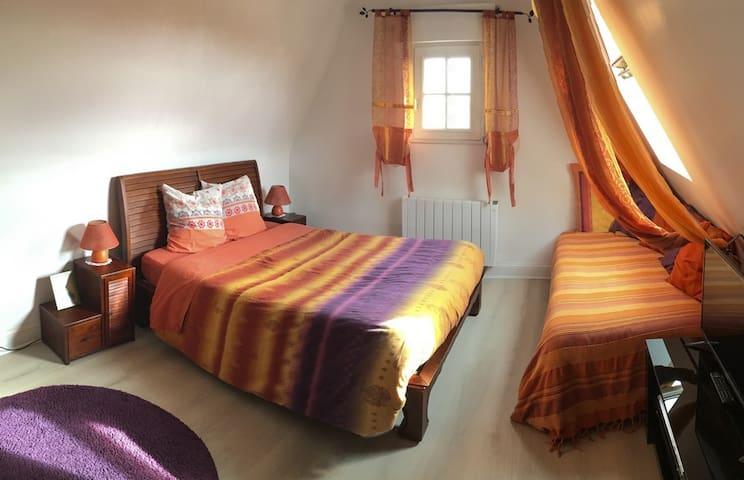 Chambre avec vue sur mer Villa Trouz Ar Mor