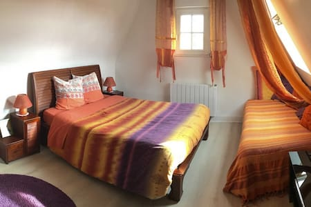 Chambre avec vue sur mer Villa Trouz Ar Mor - Camaret-sur-Mer