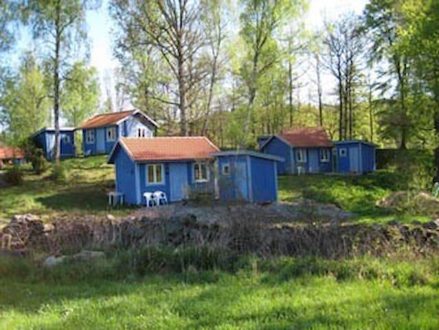 Cosy blue cottage - Hallandsboda - Svängsta - 小木屋