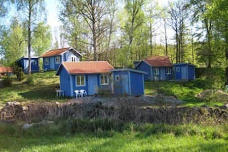 Cosy blue cottage - Hallandsboda - Svängsta - Cottage