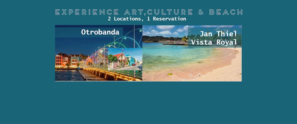 Culture & Beach Experience. 2 locations 1 booking