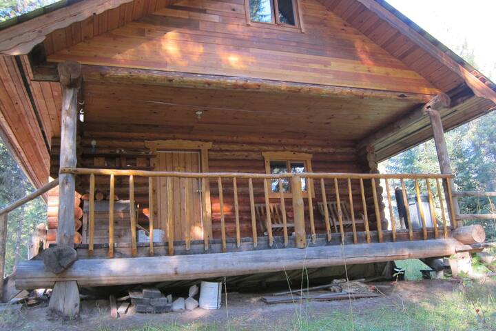 Enjoy the large river-facing porch from sunrise to sunset