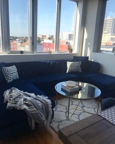 Chic Loft Downtown Newark/Ironbound