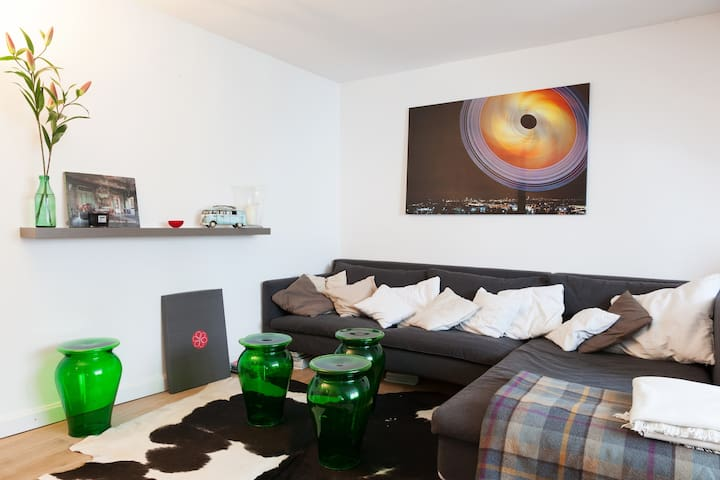 Penthouse City mit Dachterrasse - München - Loft