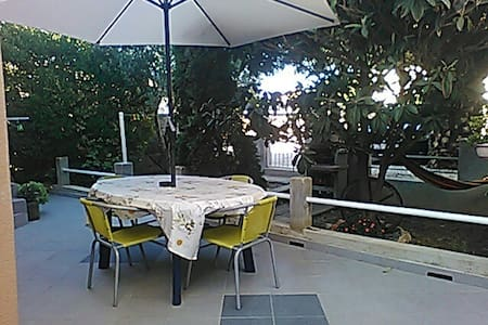 Apartment on the Beach with Terrace & Grill - Bibinje