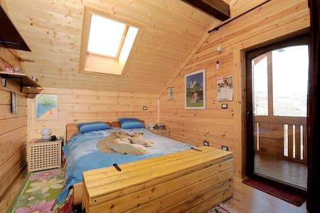 Baita in legno su colline bolognesi - San Benedetto Val di Sambro - 公寓