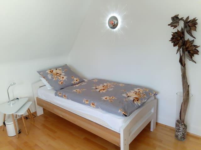 Gästezimmer mit Morgensonne