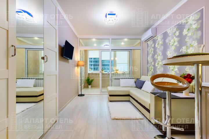 Апартаменты в ЖК Белый Ангел на Набережной , 4 эт