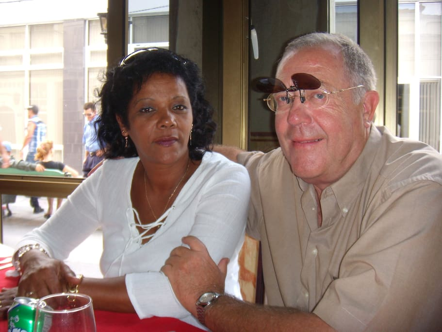 the owners, Herman and Yolanda