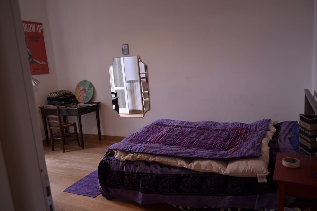 Room n°1, Double bed (Room Available atm)